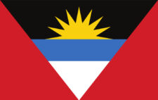 Gæsteflag Antigua and Barbuda