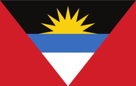 Gæsteflag Antigua and Barbuda