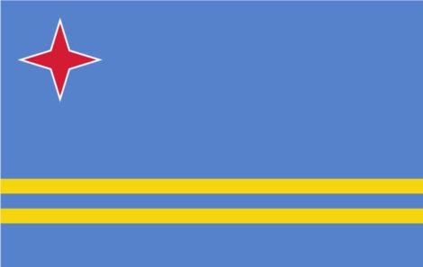 Gæsteflag Aruba