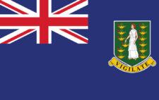 Gæsteflag British Virgin Islands