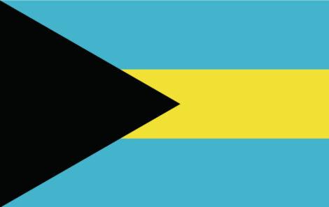 Gæsteflag Bahamas
