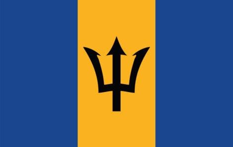 Gæsteflag Barbados