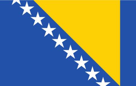 Gæsteflag Bosnien