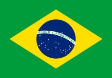 Gæsteflag Brasilien