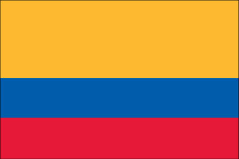 Gæsteflag Colombia
