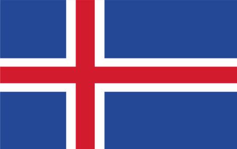 Gæsteflag Island