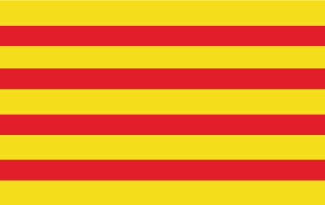Gæsteflag Katalonien