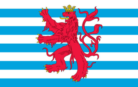 Gæsteflag Luxembourg