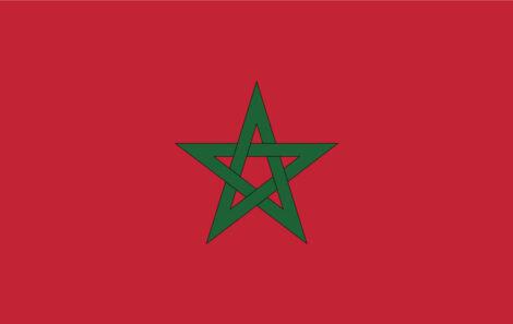 Gæsteflag Marokko