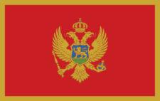 Gæsteflag Montenegro