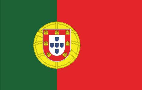 Gæsteflag Portugal