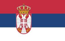 Gæsteflag Serbien