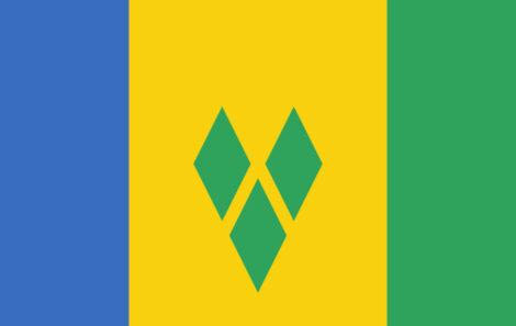 Gæsteflag St. Vincent & The Grenadines