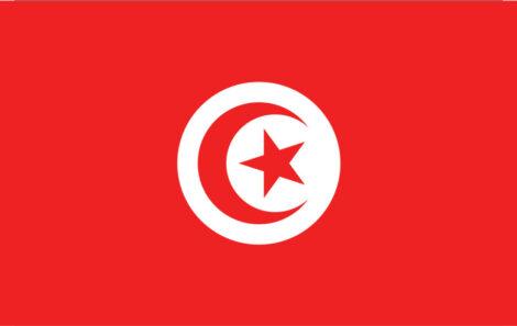Gæsteflag Tunesien