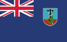Gæsteflag Montserrat
