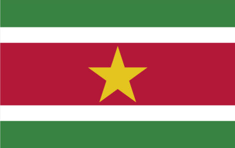 Gæsteflag Surinam