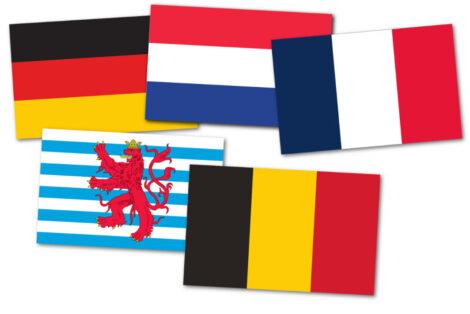 Gæsteflag Europas kanaler