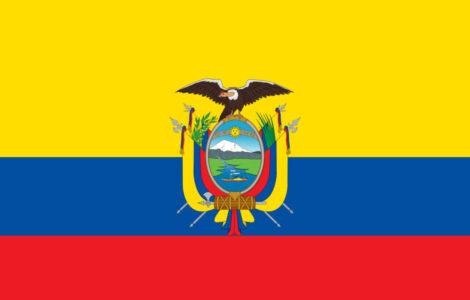 Gæsteflag Equador