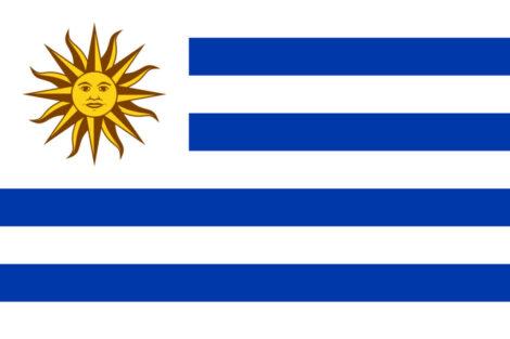 Gæsteflag Uruguay